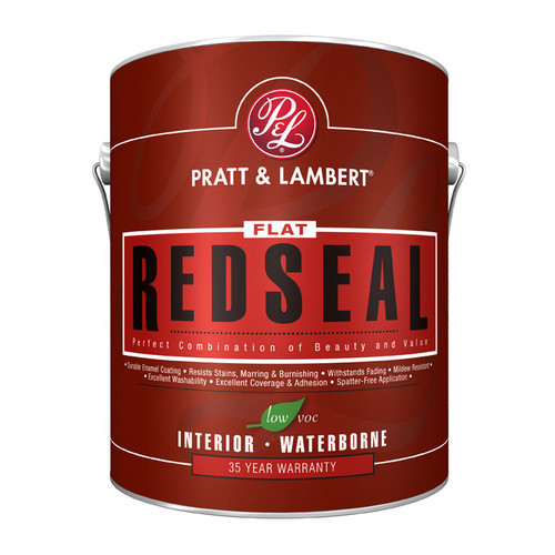 Pratt & Lambert RedSeal Vapex RedSeal Interior Latex Flat Wall Finish Gallon