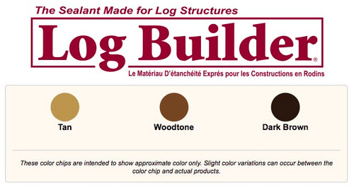 Sashco Log Builder Caulk 10.5  oz (Case of 12)
