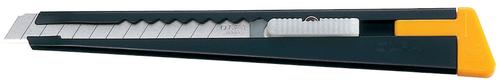 OLFA Metal Body Slide Mechanism Utility Knife With Blade Snapper 9mm