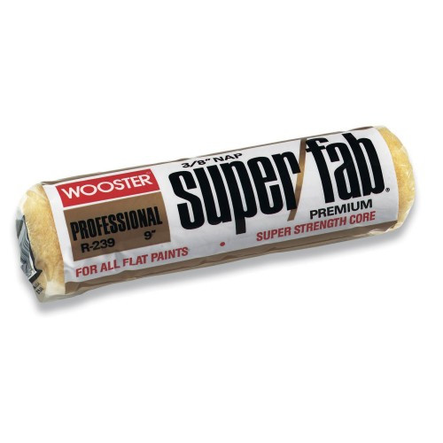 "Wooster Super Fab Roller Cover 9"" - 3/8"" (Case of 12)"
