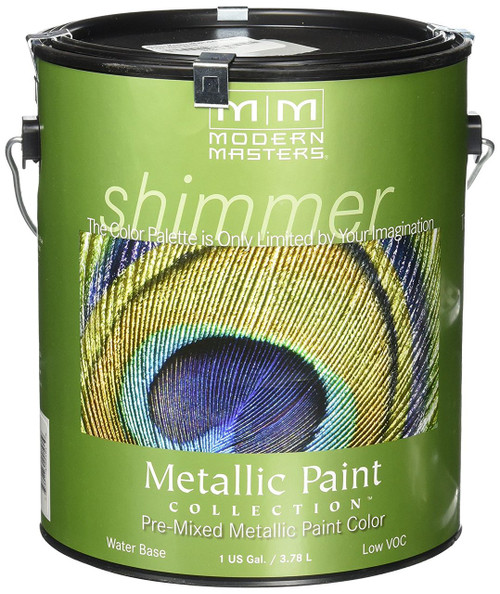 Modern Masters Metallic Satin Paint Gallon