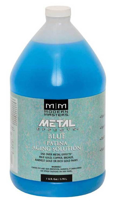 Modern Masters Metal Effects Blue Patina Aging Solution Gallon