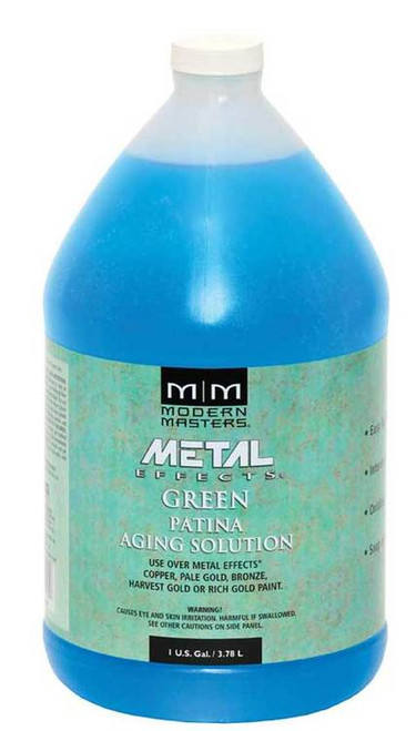 Modern Masters Metal Effects Green Patina Aging Solution Gallon