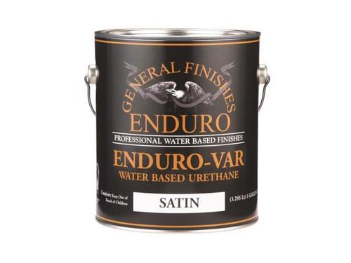 General Finishes Enduro-Var Water Based Urethane Top Coat Gallon