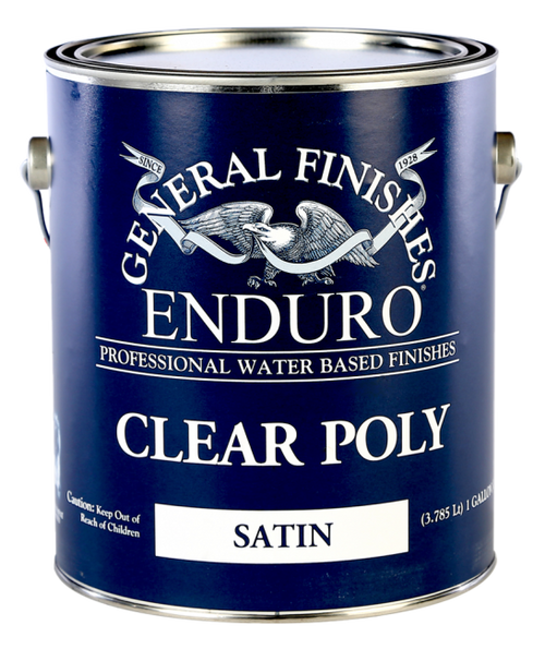 General Finishes Water Based Clear Poly Gallon