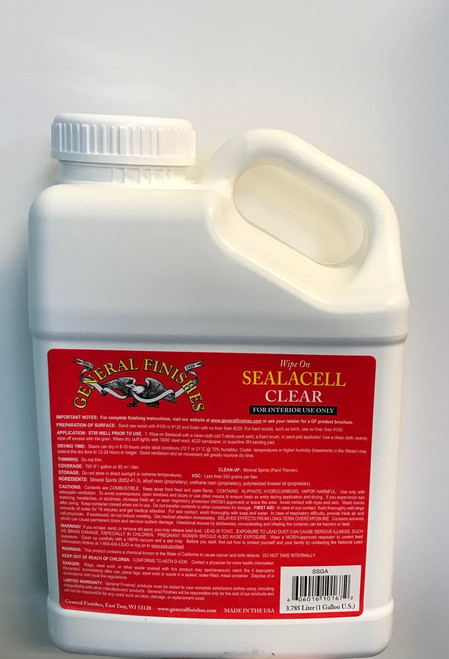 General Finishes Clear Seal-A-Cell Gallon