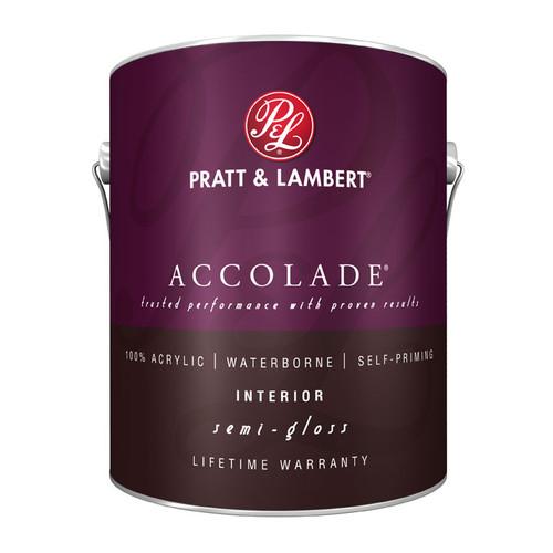 Pratt & Lambert Accolade Interior Acrylic Latex Semi-Gloss Gallon