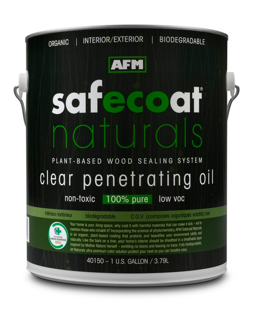 AFM Safecoat Naturals Clear Penetrating Oil Gallon