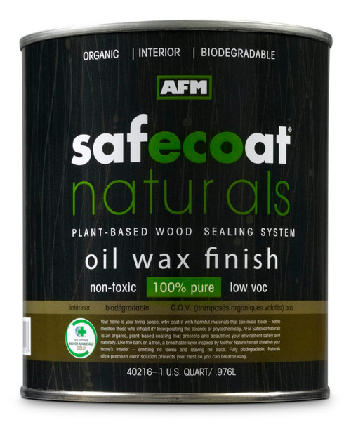 AFM Safecoat Naturals Oil Wax Finish Gallon