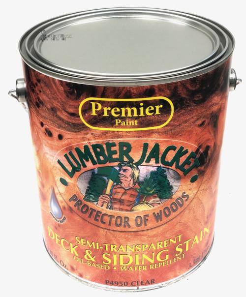 Premier Lumber Jacket Semi-Transparent Deck & Siding Stain Gallon
