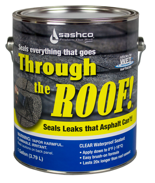 Sashco Through the Roof Roofing Sealant Gallon