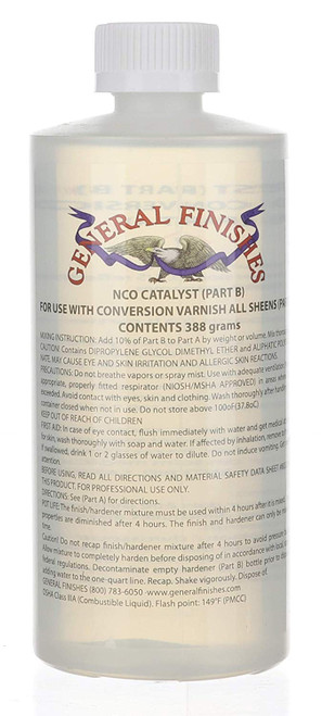 General Finishes Enduro Conversion Varnish, NCO Catalyst 13 Ounces