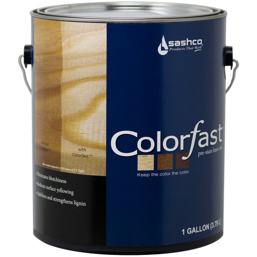 Sashco Colorfast Clear Gallon