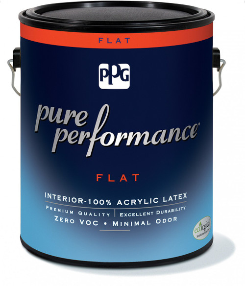 Pittsburgh Pure Performance Interior Flat Latex Gallon