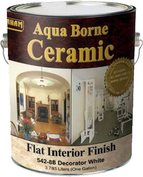 California Aqua Borne Ceramic Flat Interior Finish (Formally Graham) Gallon