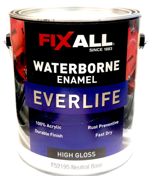 FixAll Everlife Waterborne Enamel High Gloss Gallon (Formerly Graham Aqua Borne Ceramic)