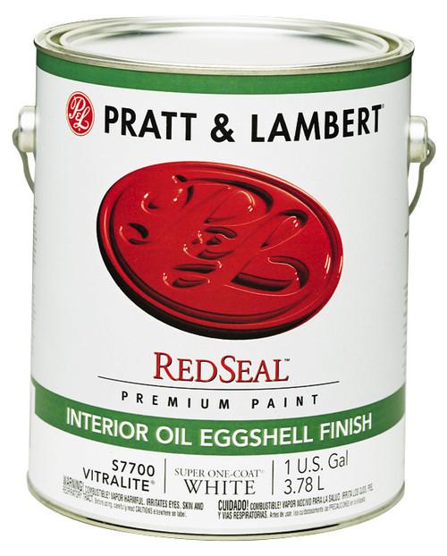 Pratt & Lambert RedSeal Vitralite Interior Oil Eggshell Enamel Gallon