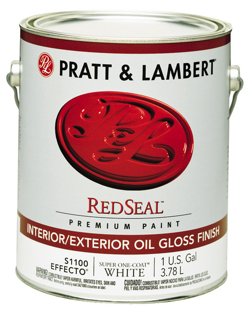 Pratt & Lambert RedSeal Effecto Interior/Exterior Oil Gloss Enamel Gallon