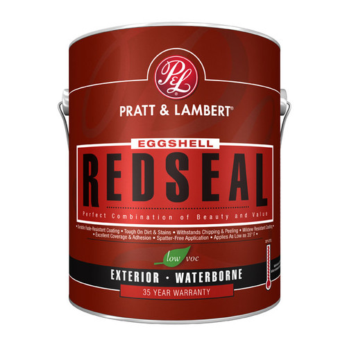 Pratt & Lambert RedSeal Exterior Latex Flat House Paint Gallon