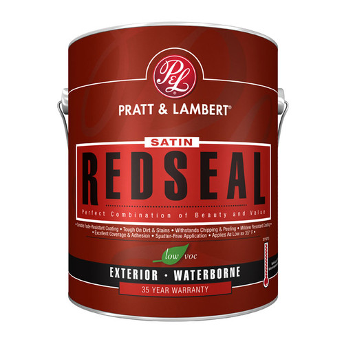 Pratt & Lambert RedSeal Exterior Latex Satin House & Trim Gallon