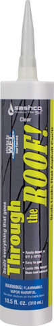 Sashco Through the Roof 10.5 fl oz Roofing Sealant and Caulk