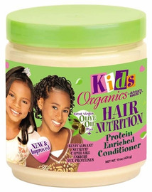 Africa's Best Organic Kids Hair Nutrition Protein Enriched Conditioner 15oz