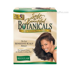 Botanicals No-Lye Sensitive Scalp Relaxer Kit Coarse