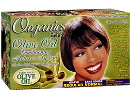 Africa's Best Organics Olive Oil Relaxer Kit Regular