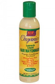 Africa's Best Organic Leave-In Liquid Hair Mayonnaise 6oz