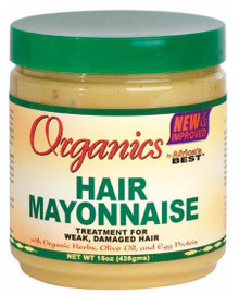 Africa's Best Organic Hair Mayonnaise 15oz