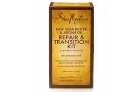 Shea Moisture Raw Shea Butter & Argan Oil Repair & Transition Kit