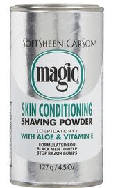 Magic Shave Shaving Powder Skin Conditioning Platinum 4.5oz
