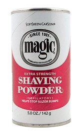 Magic Shave Shaving Powder Extra Strength Red 4.5oz