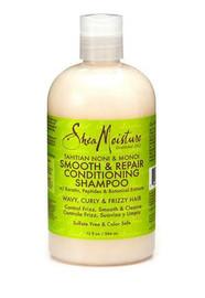 Shea Moisture Tahitian Noni & Monoi Smooth & Repair Shampoo 12oz