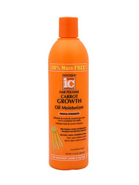 Fantasia IC Hair Polisher Carrot Growth Oil Moisturizer 12oz