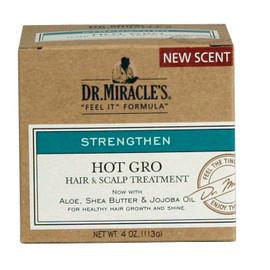 Dr. Miracles Hot Gro Hair & Scalp Treatment Super 4oz