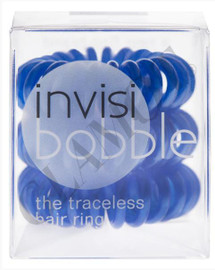 Invisibobble Traceless Hair Ring x3 Navy Blue