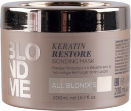 Schwarzkopf BlondMe Keratin Restore Bonding Mask 200ml