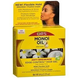 ORS Monoi Oil Tahitian Coconut Anti Breakage Edge Control Gel 64g