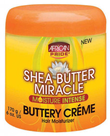 African Pride Shea Butter Miracle Buttery Creme 170g