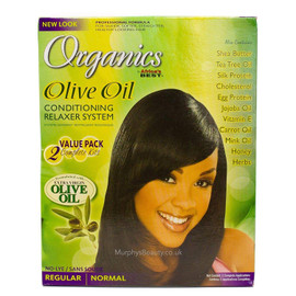Africa's Best Organics Olive Oil Relaxer Value Kit Regular