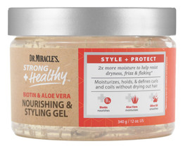 Dr.Miracle's Strong Healthy Nourishing Styling Gel 340g