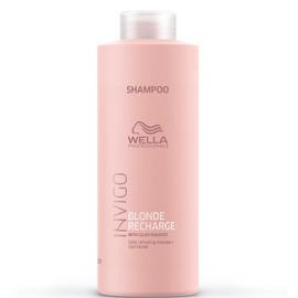 Wella Invigo Blonde Recharge Color Shampoo 1000ml