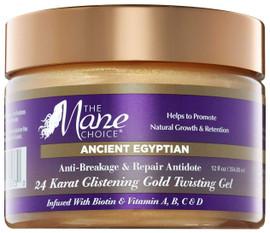 The Mane Choice Ancient Egyptian 24 Karat Gold Twisting Gel 254ml