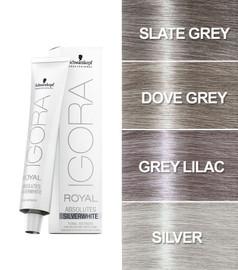 Schwarzkopf Igora Royal Silver White Hair Toner 60ml (Silver)