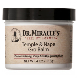 Dr. Miracle Temple and Nape Gro Balm 4oz