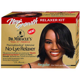 Dr. Miracle's New Growth No Lye Relaxer Kit Regular
