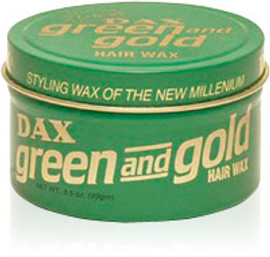 DAX Green & Gold Styling Wax 3.5oz