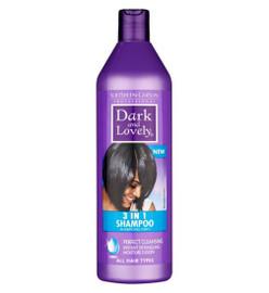 Dark & Lovely Moisture Plus 3 in 1 Shampoo 500ml