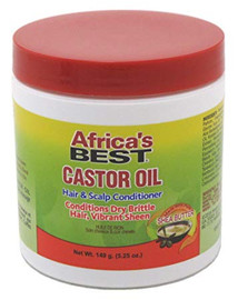 Africa's Best Castor Oil Hair & Scalp Conditioner 149g